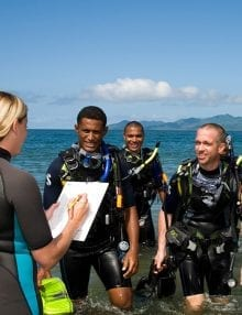 PADI Open Water to Rescue Diver