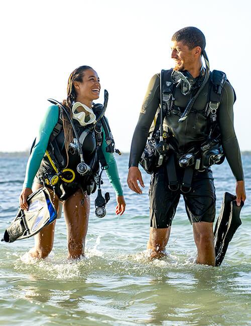 PADI Shore Dive
